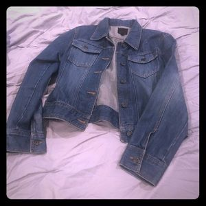 The Limited short jean jacket Medium